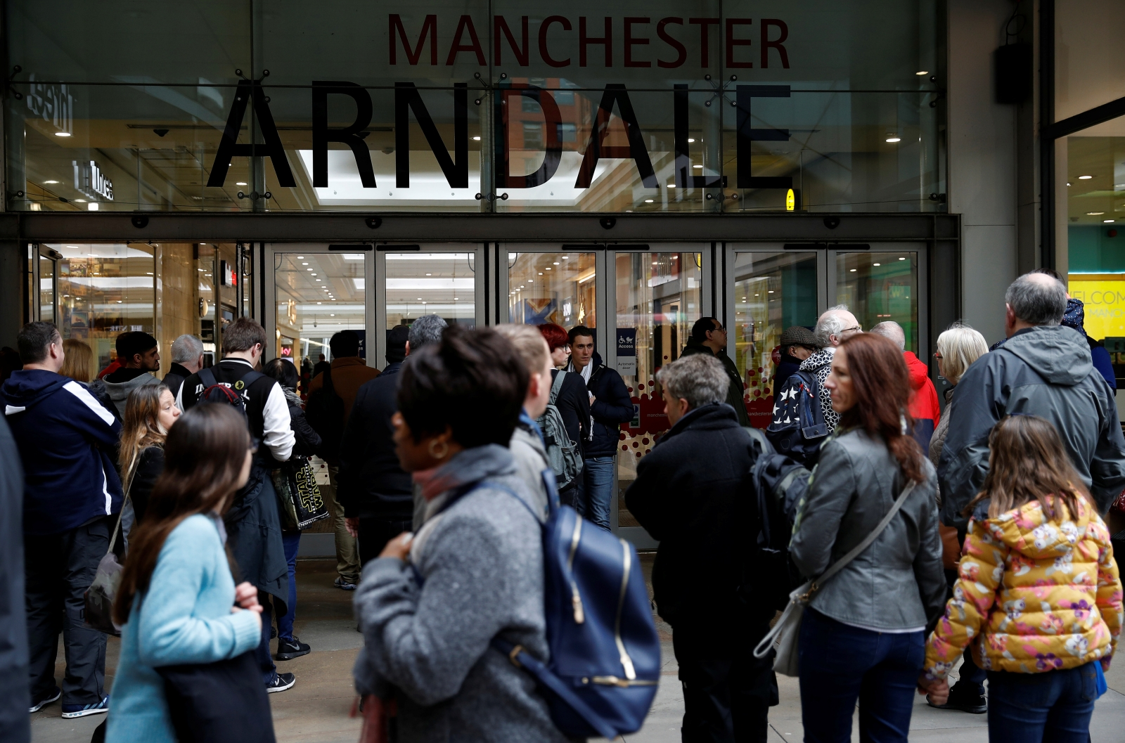 Arndale Center in Manchester