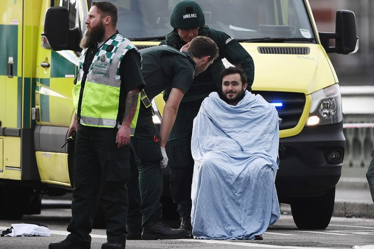 London terror attack injured