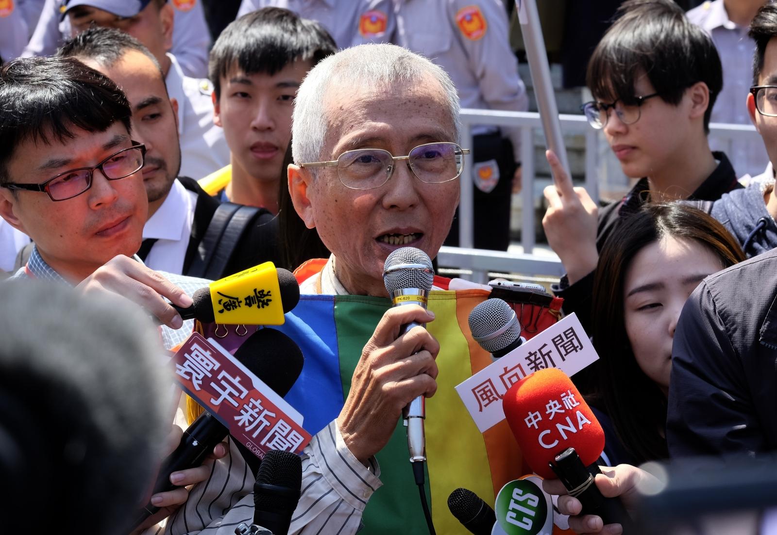 Taiwan same sex marriage ruling