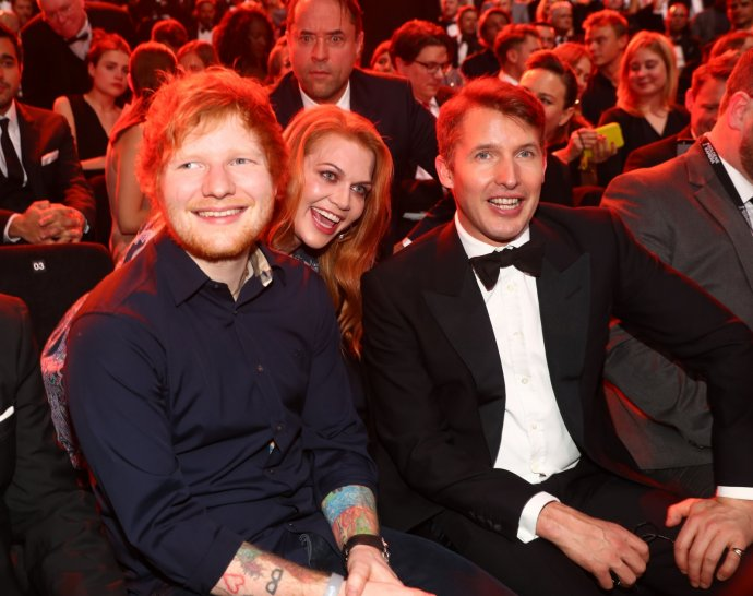 James Blunt and Ed Sheeran