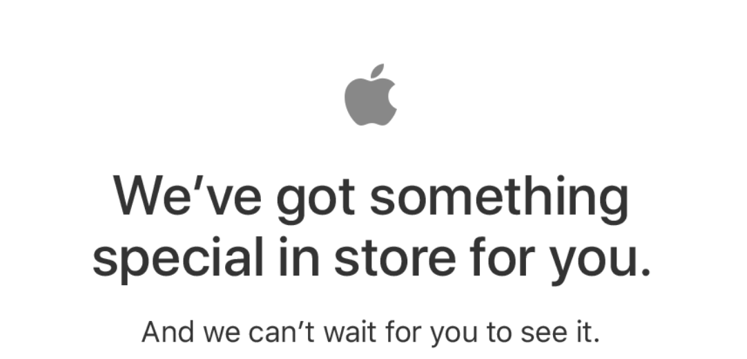 Apple Store down