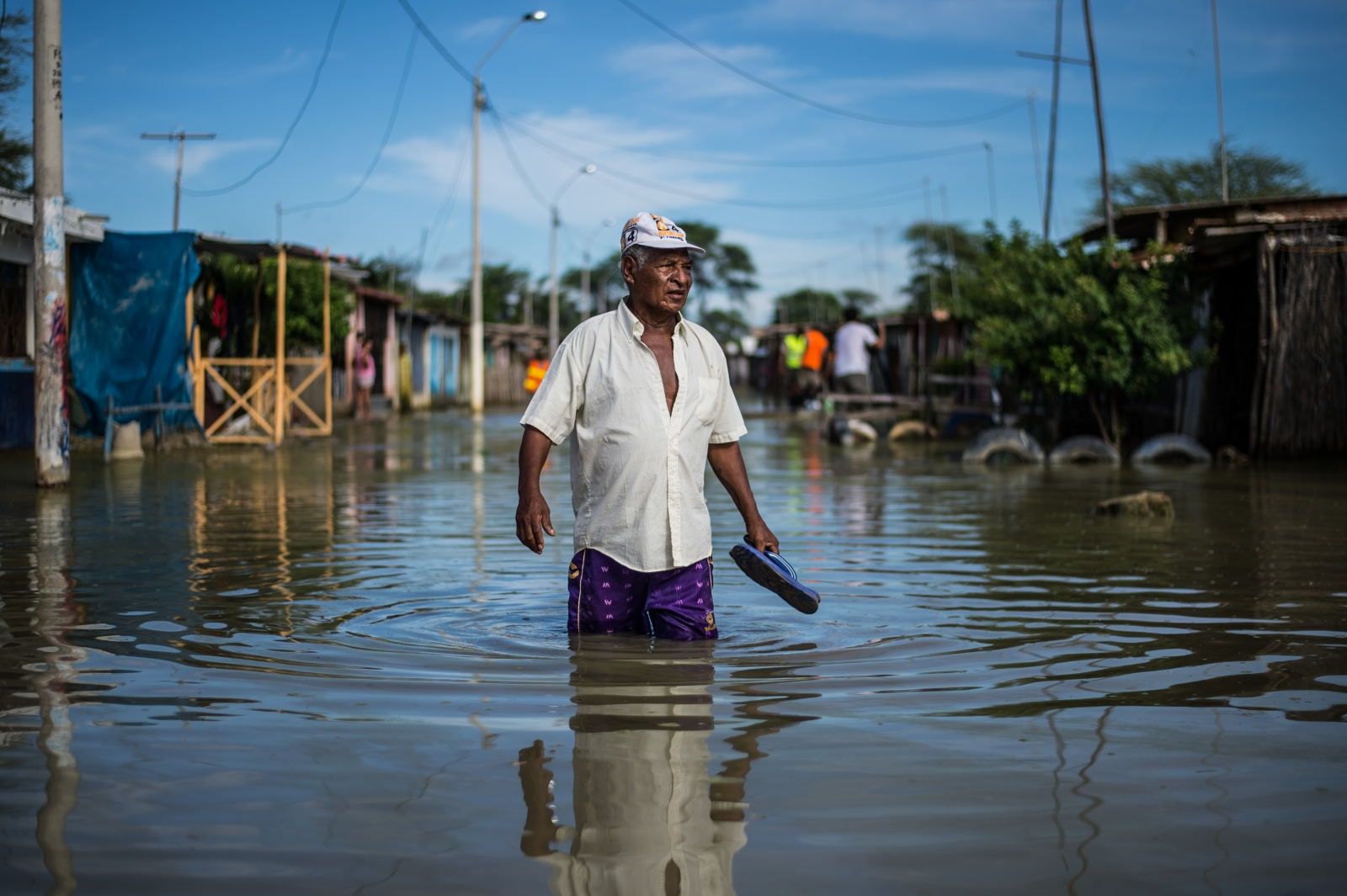 Peru landslides floods inundación imagenes