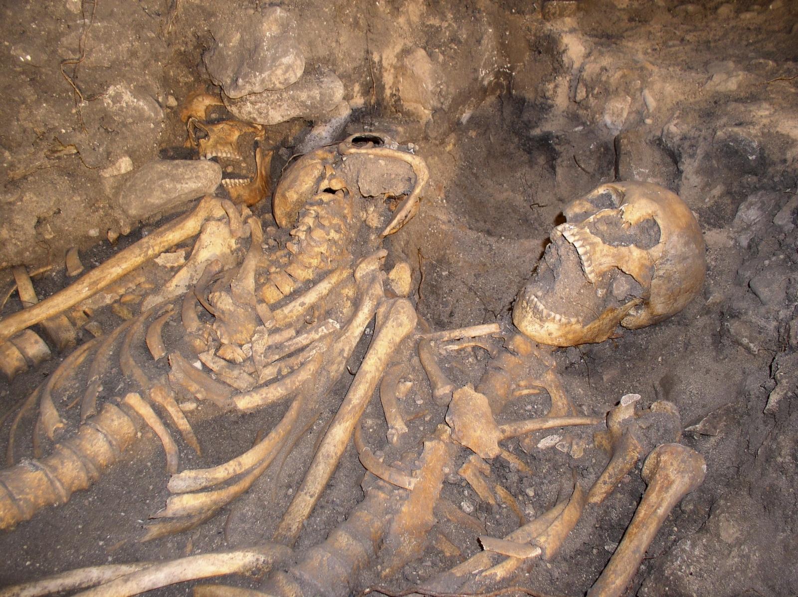 Battle of Towton skeleton