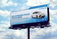 Toyota eco billboard air pollution