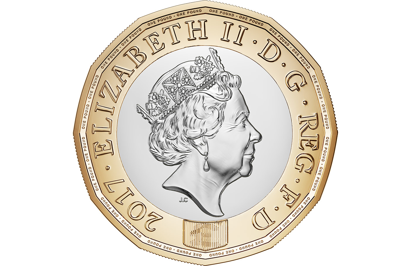 New one pound coin