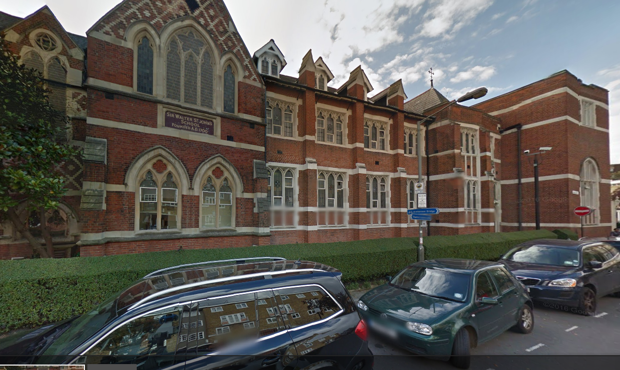 St Thomas School Battersea London