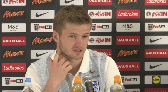 Eirc Dier urges England fans to show support in 'the right way' at Wembley
