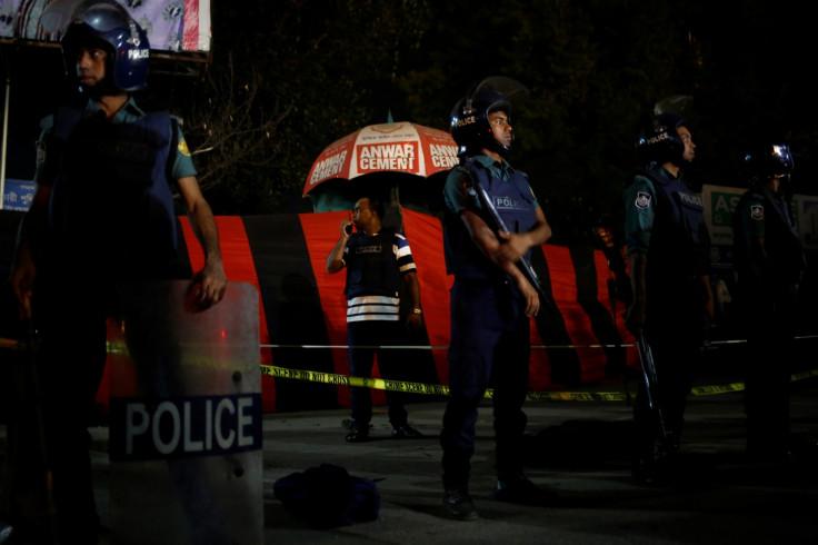 Bangladesh suicide bomber