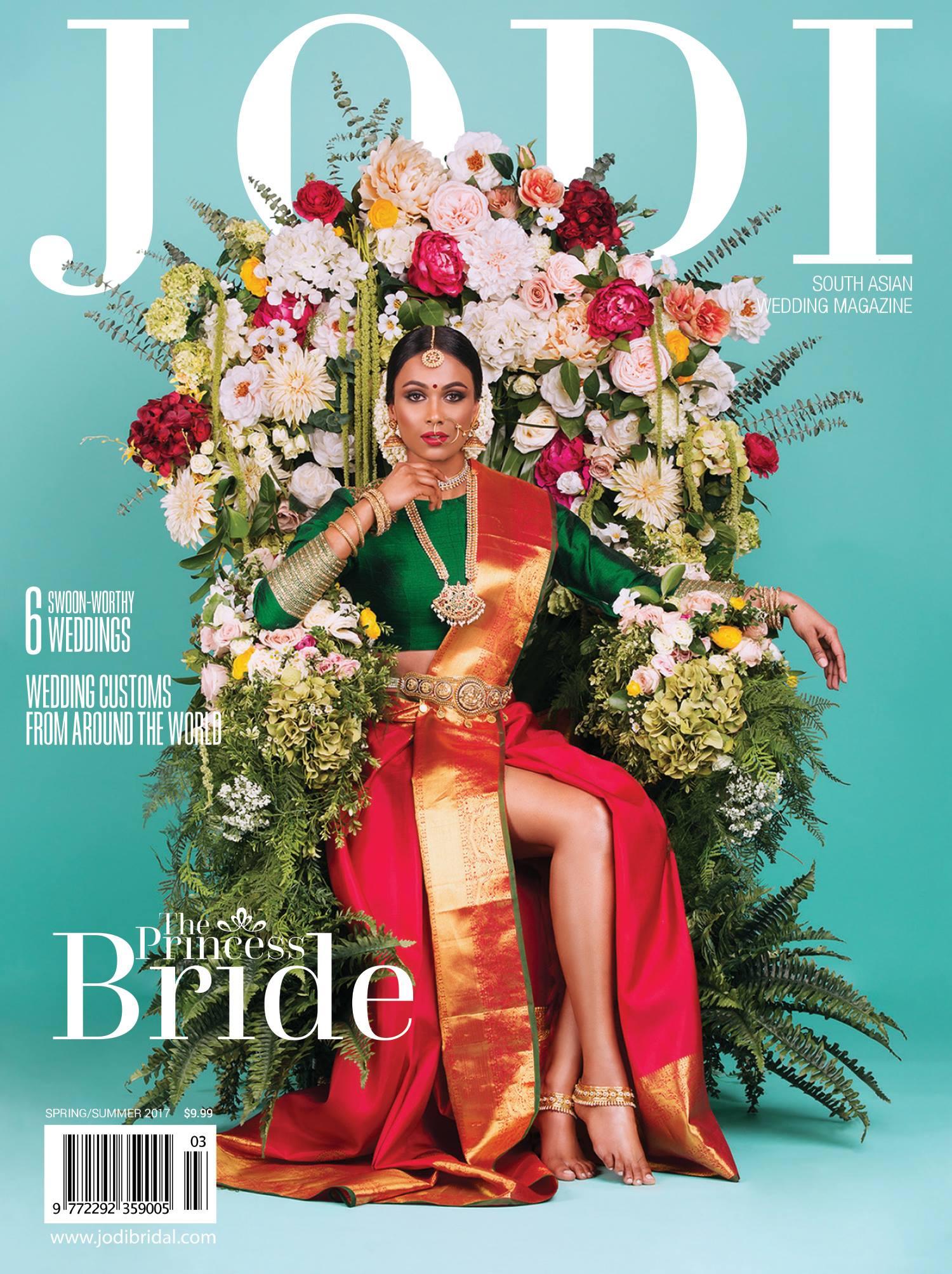 Jodi Bridal Show magazine cover