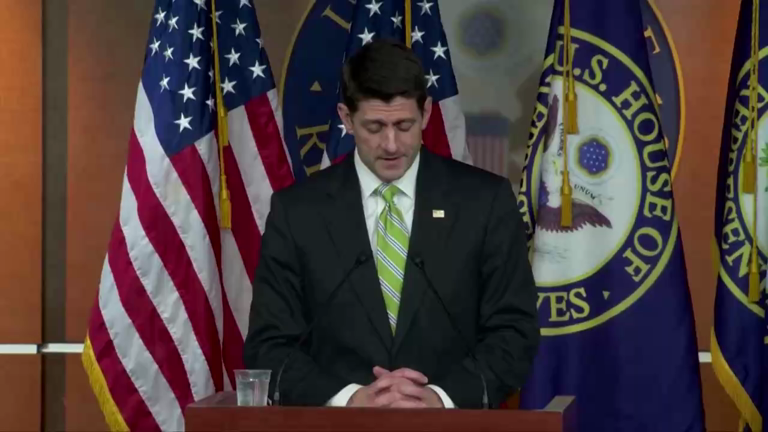 Paul Ryan on Obamacare vote failure: 'I will not sugar coat this. This is disappointing day for us'