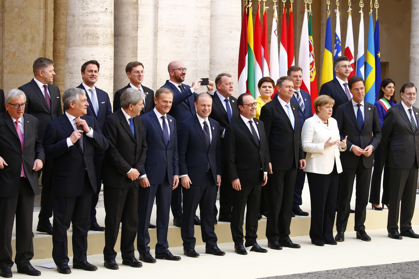 EU leaders celebrate 60th birthday of European Union in Rome