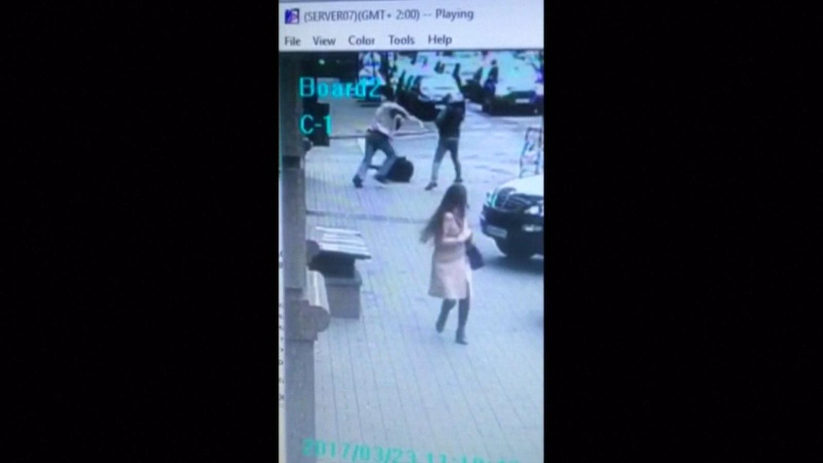 Putin critic Denis Voronenkov shot dead in broad daylight on streets of Kiev