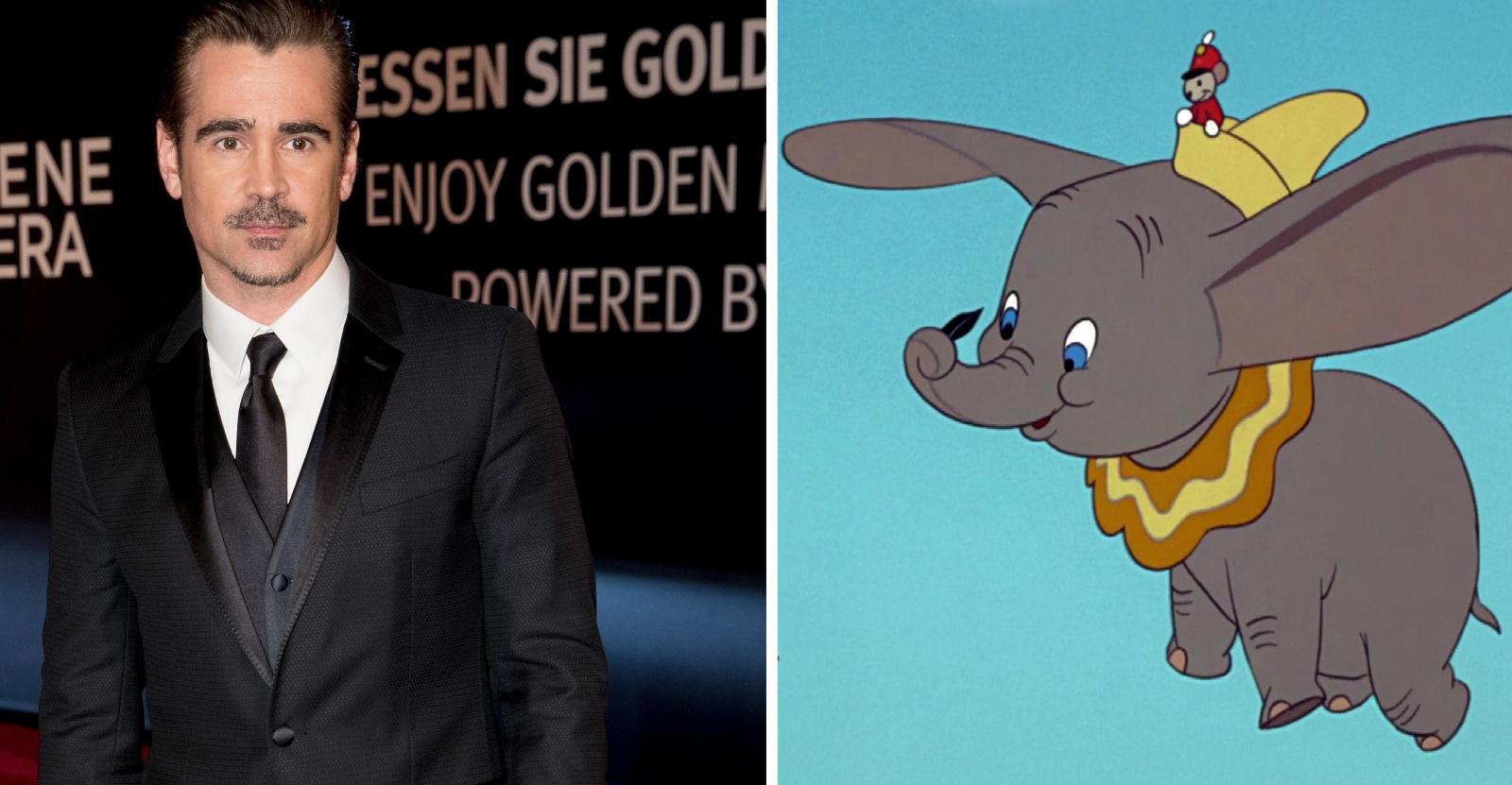 Colin Farrell in talks for Disney's Dumbo