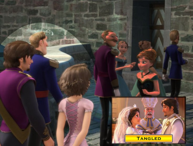 Tangled Frozen crossover