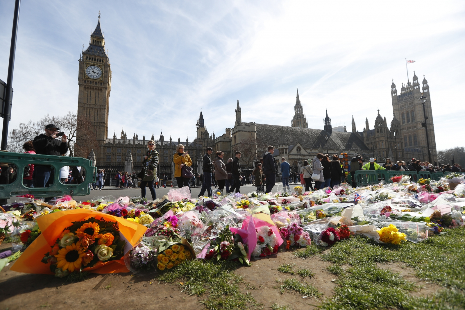 tributes Westminster