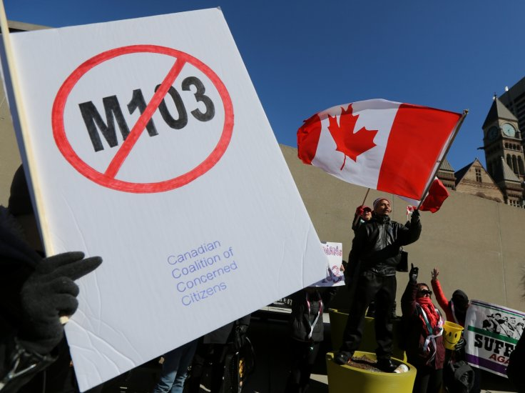 M-103 protest