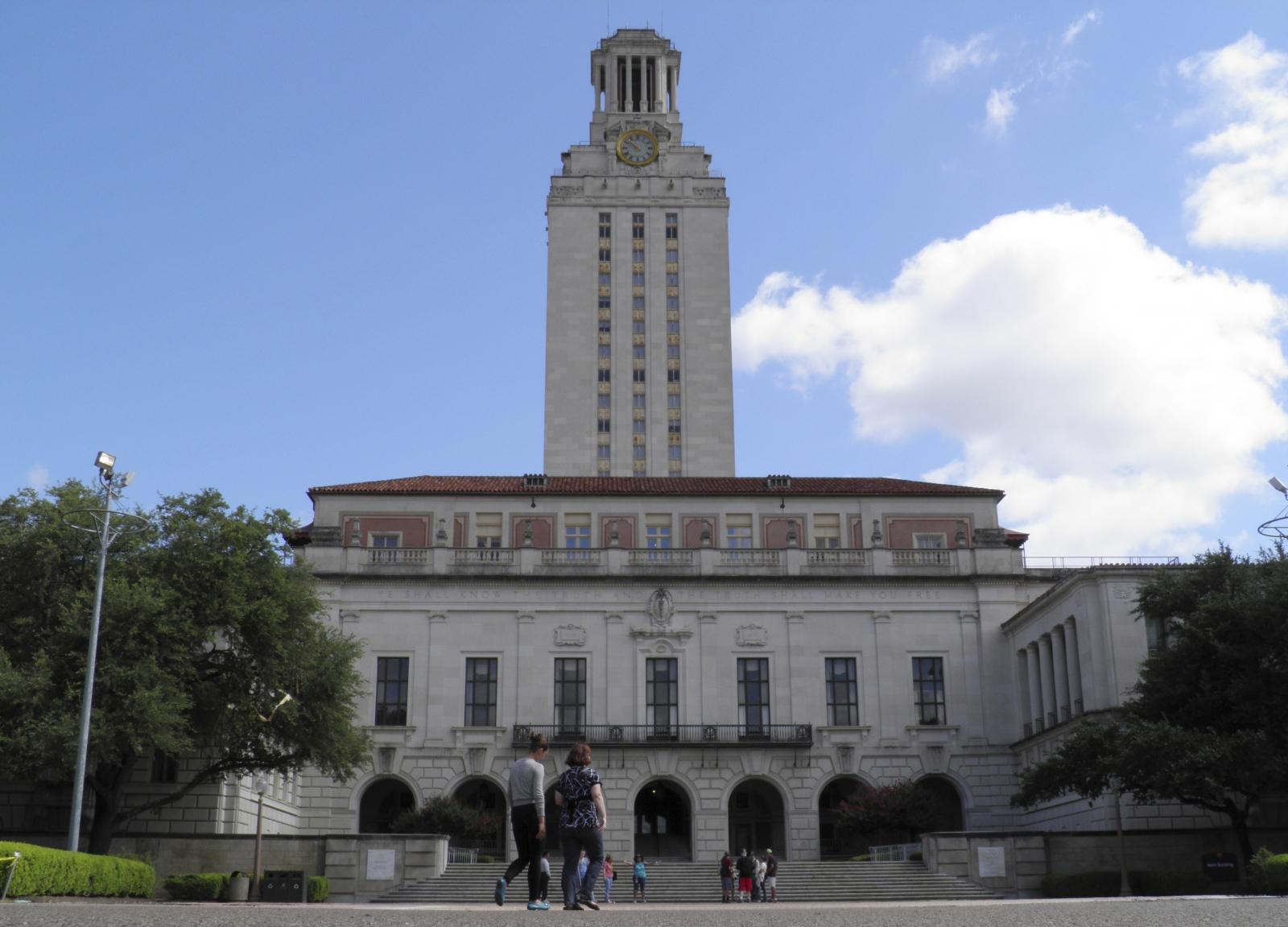 University of Texas campus in Austin