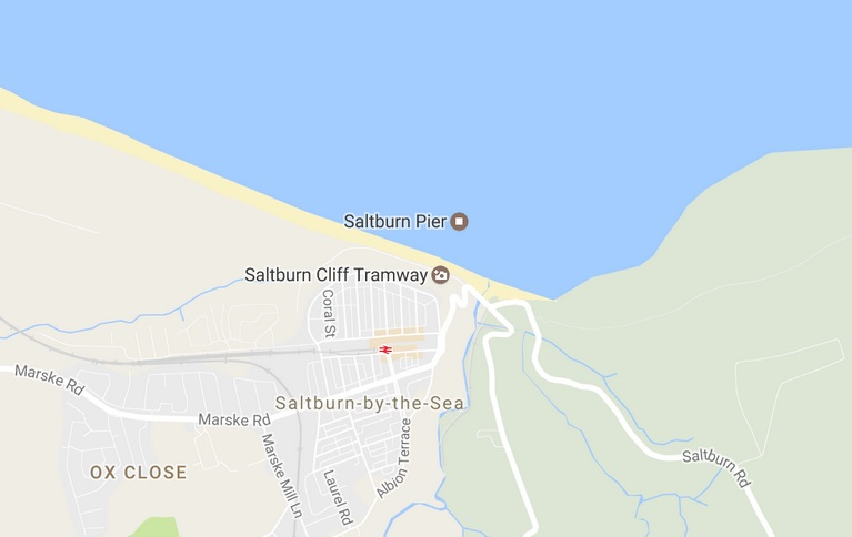 Two teenage boys were found dead at the foot of Saltburn Cliffs