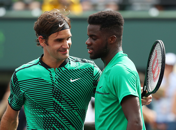 Roger Federer praises teenage prospect Frances Tiafoe: 'I think he's going to be really good'