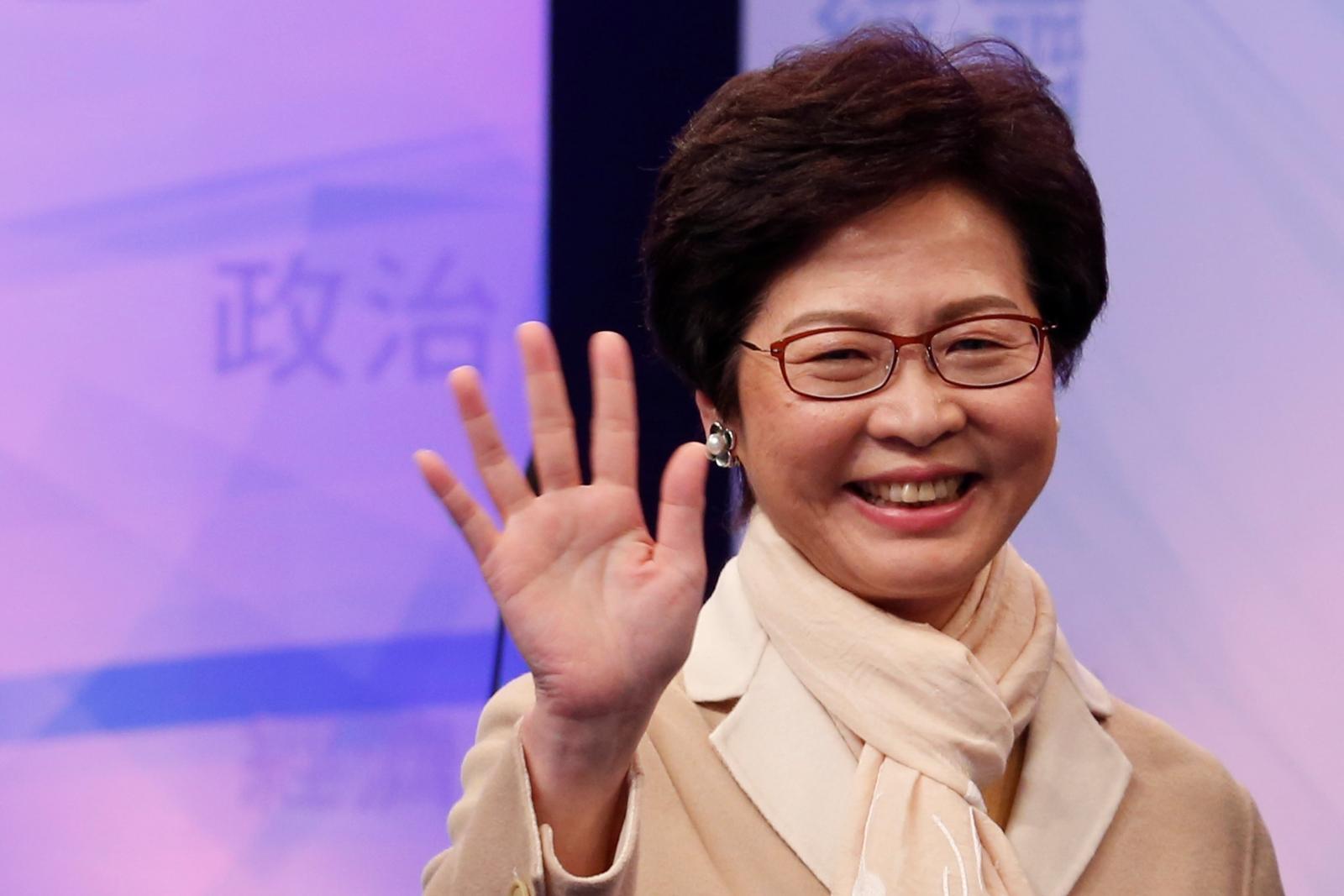 Hong Kong chief executive vote
