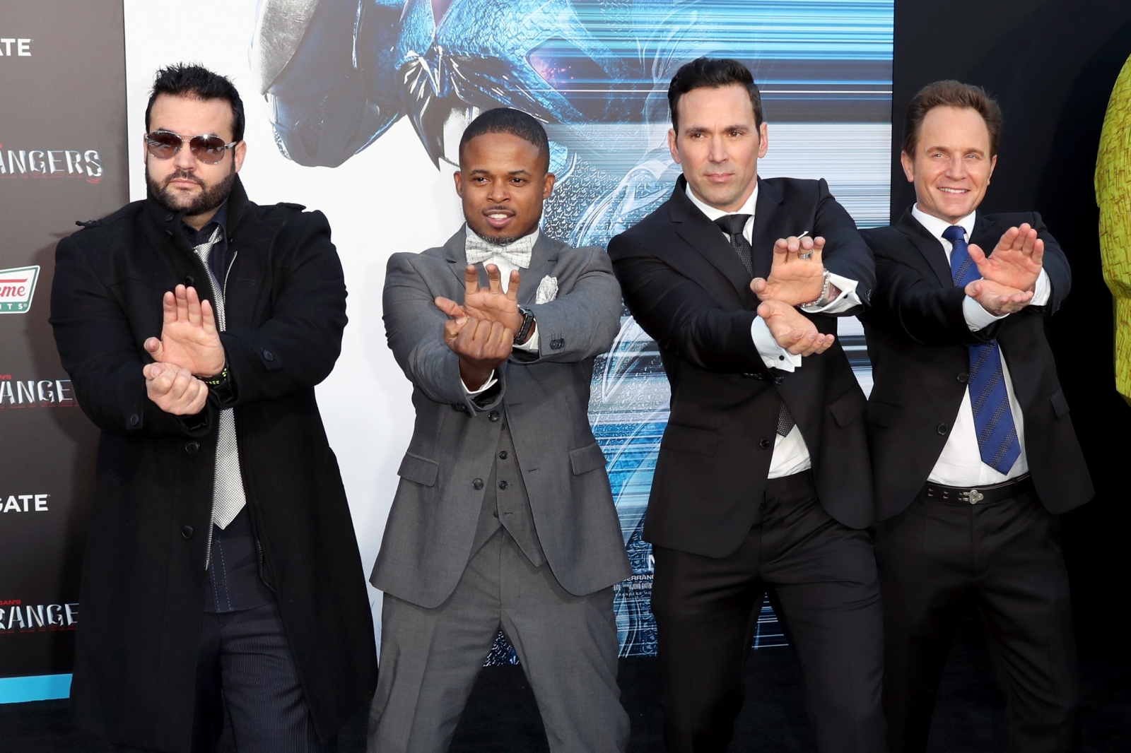 the original power rangers reunite at premiere for new film and it 39 s morphenomenal. Black Bedroom Furniture Sets. Home Design Ideas