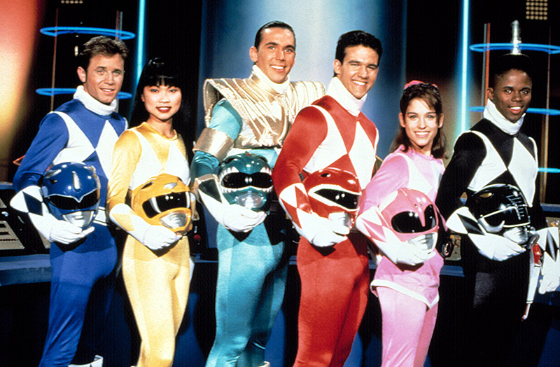 Mighty Morphin Power Rangers original cast