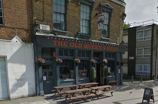 Car ploughs into queuing outside North London pub