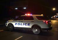 Roadblock at Cincinnati shooting