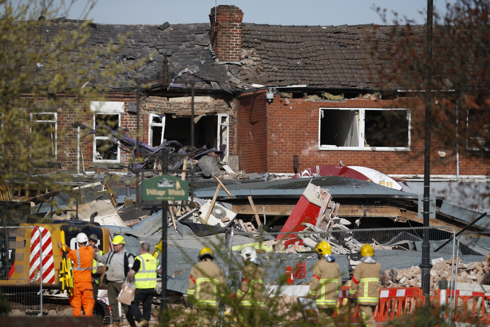 Explosion in Wirral