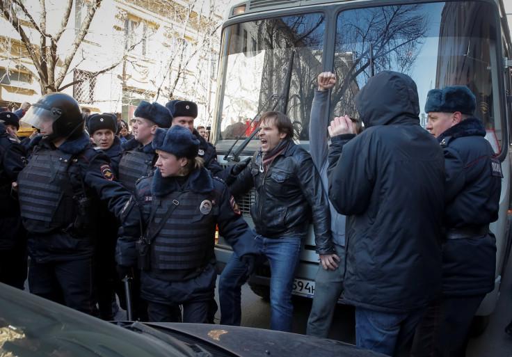 navalny protesters