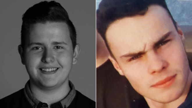 Harry Watson (L) and Alex Yeoman (R) were found dead at the bottom of Saltburn Cliff