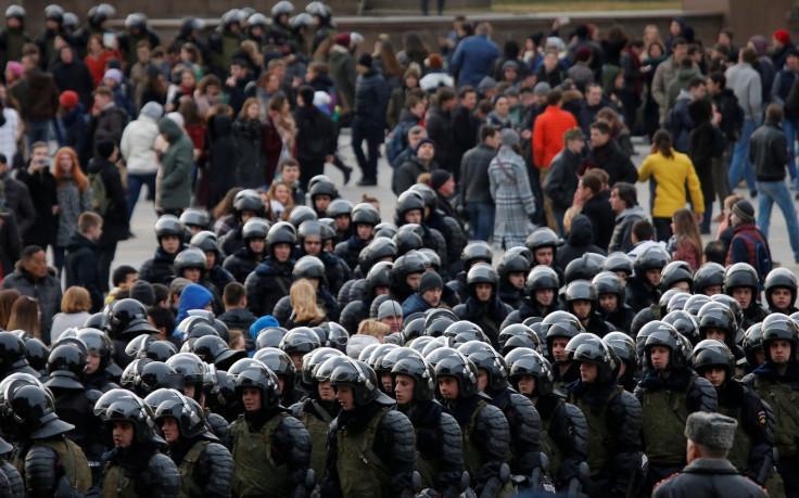 Russia anti-corruption rally