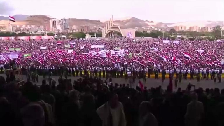 yemenis-rally-in-sanaa-to-mark-two-years-since-start-of-war