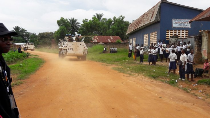 Monusco in Kasaï-Central  Province