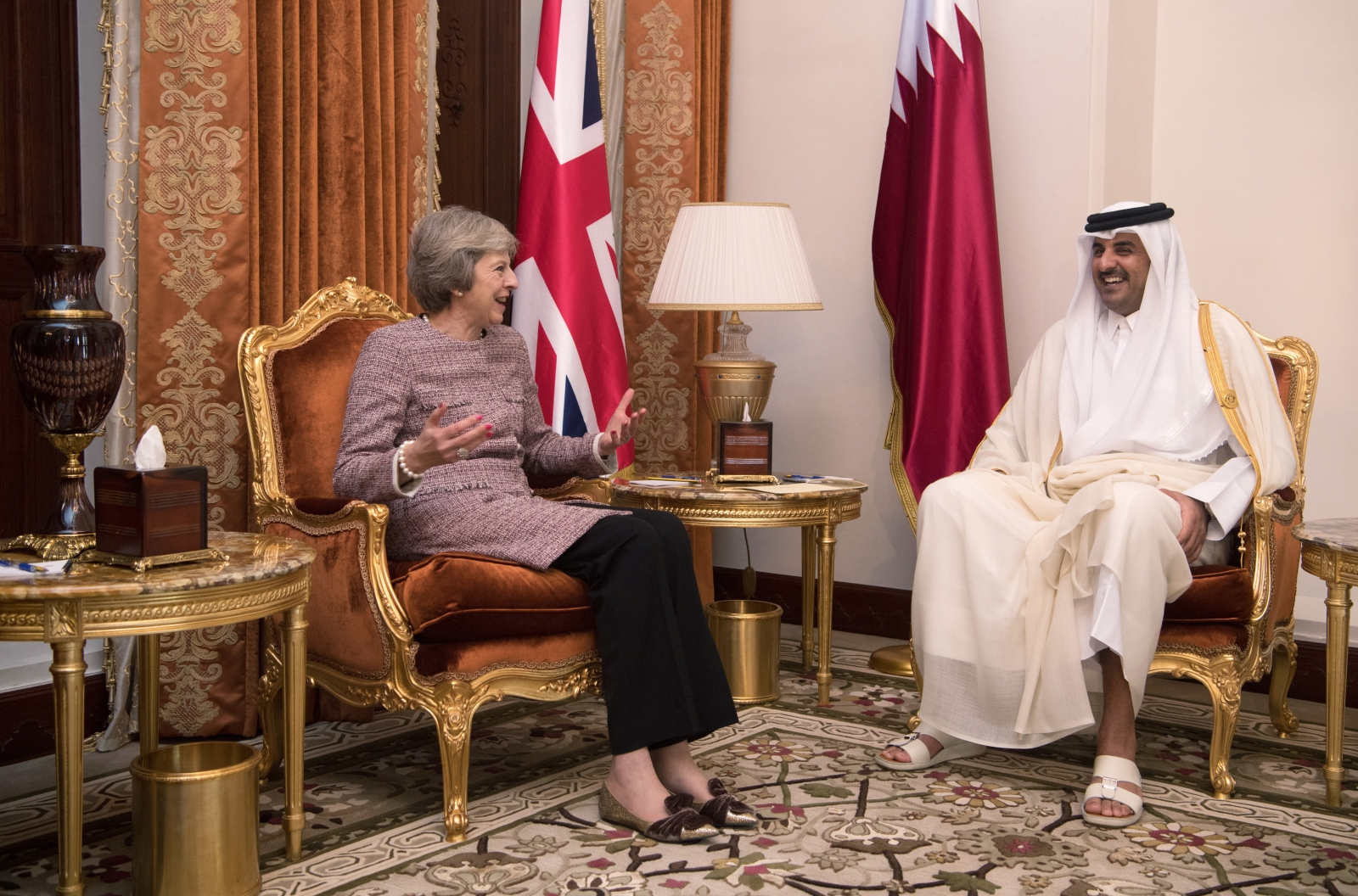 May and Al Thani