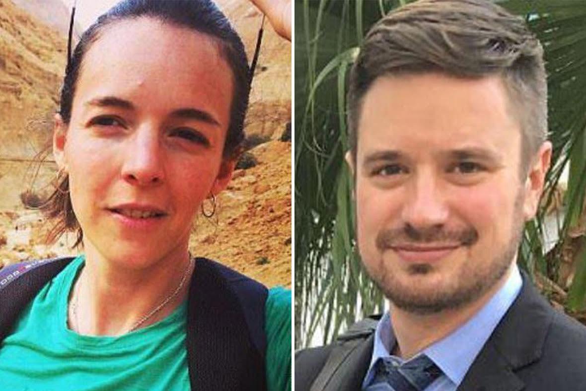 Zaida Catalan and Michael Sharp