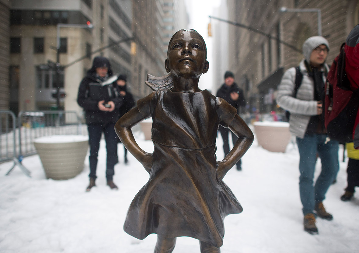New York's Fearless Girl statue to stay on till March 2018