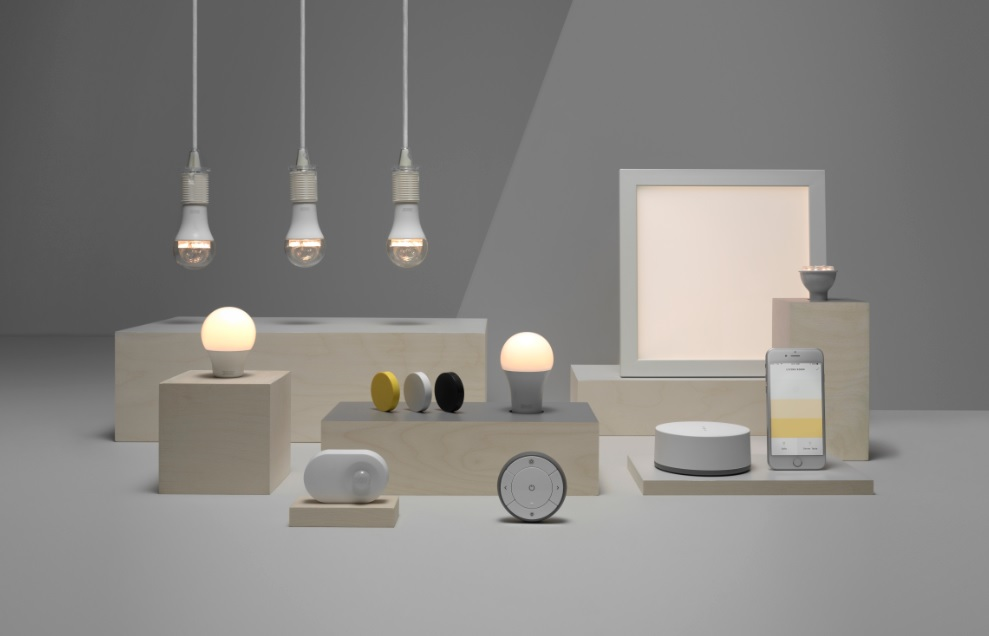 ikea enters smart lighting market with 15 iphone controlled bulb. Black Bedroom Furniture Sets. Home Design Ideas