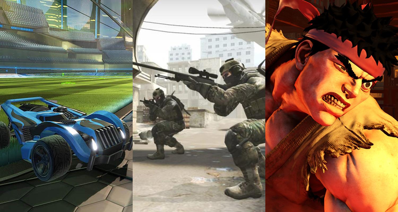 Rocket League Counter Strike Street Fighter