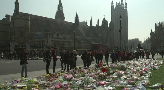 Tributes to victims of Westminster attack