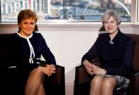 Nicola Sturgeon, Theresa May