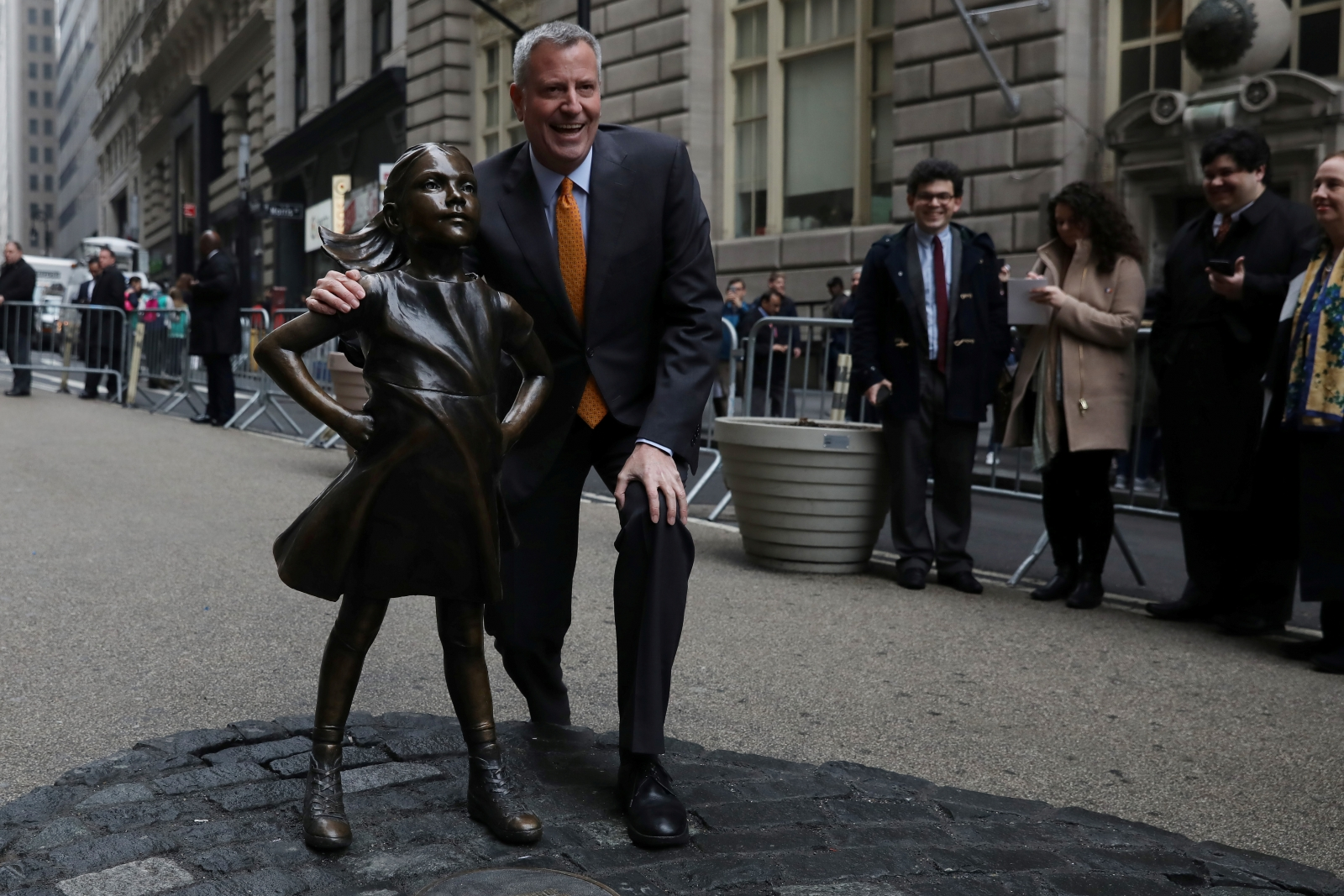 Wall Street's 'Fearless Girl' Statue Likely to Stay, For Now
