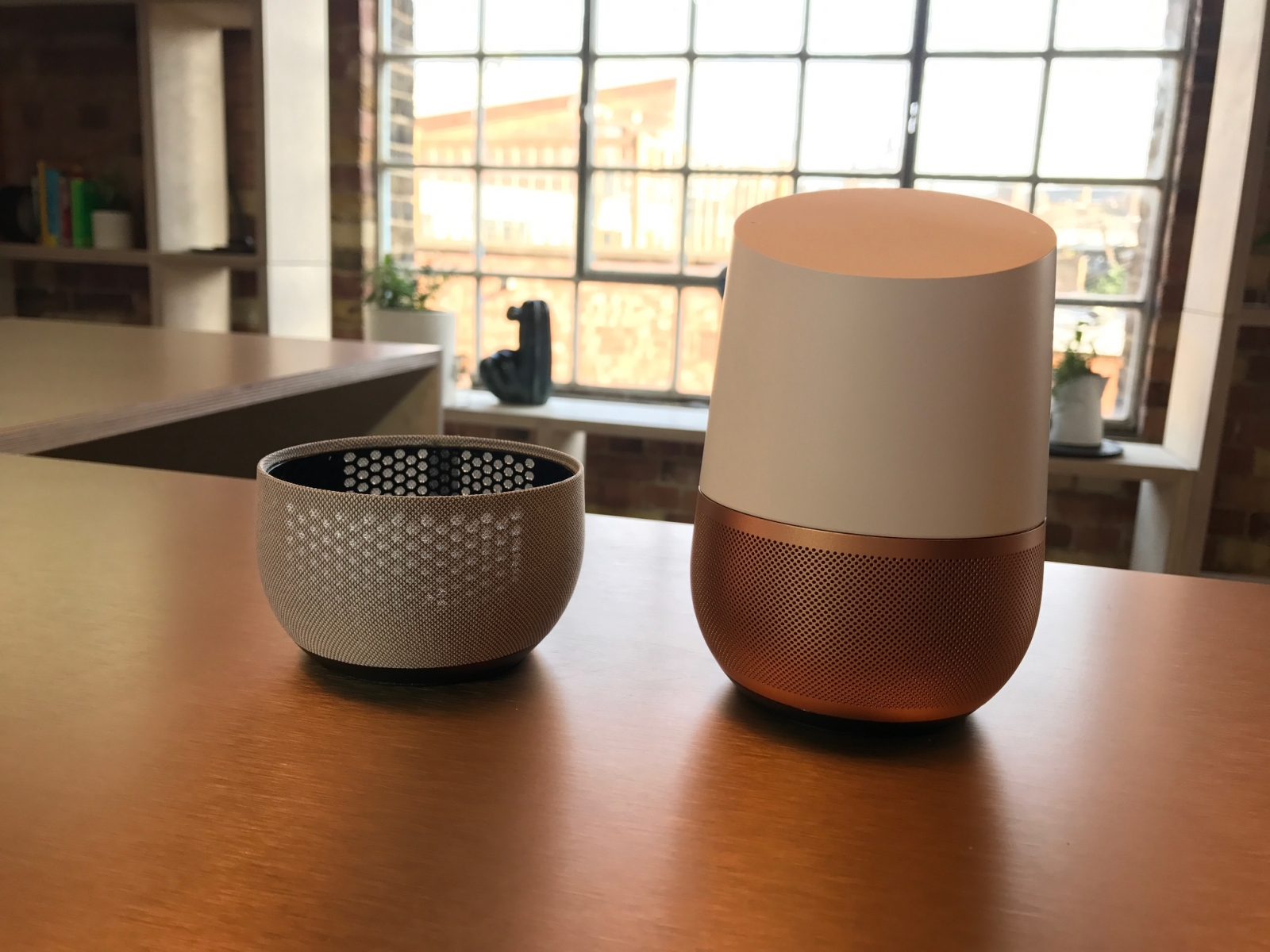 google home review can google 39 s smart speaker topple amazon echo and alexa. Black Bedroom Furniture Sets. Home Design Ideas