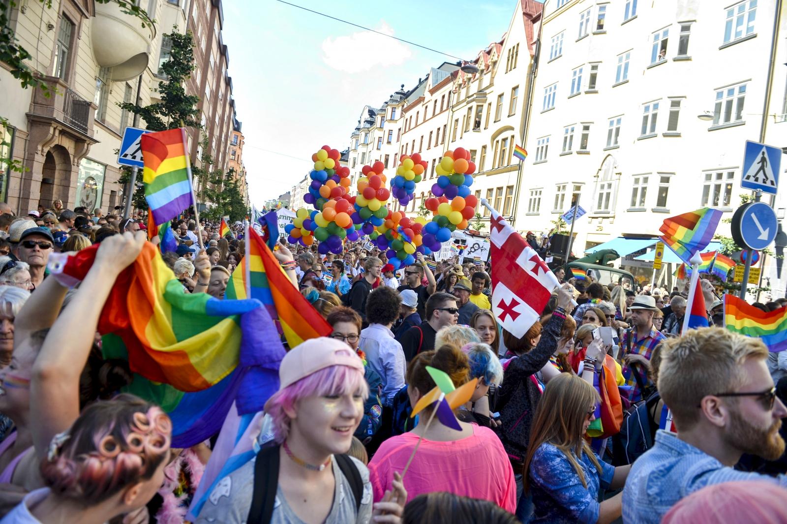 gay pride Stockholm