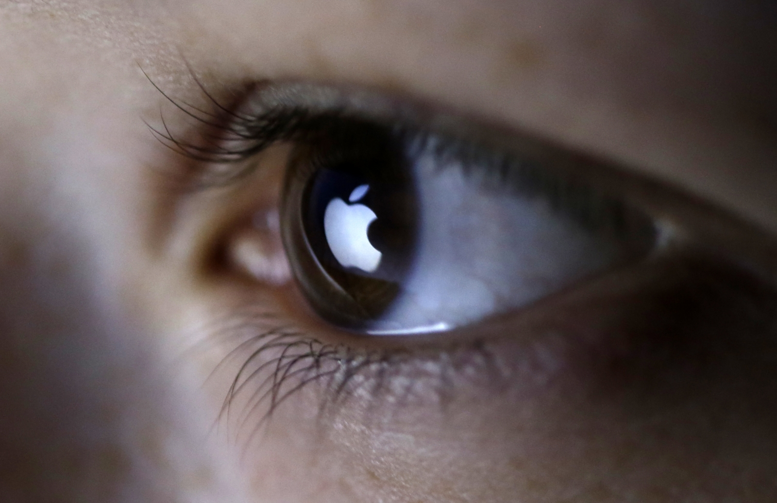 Apple eye logo