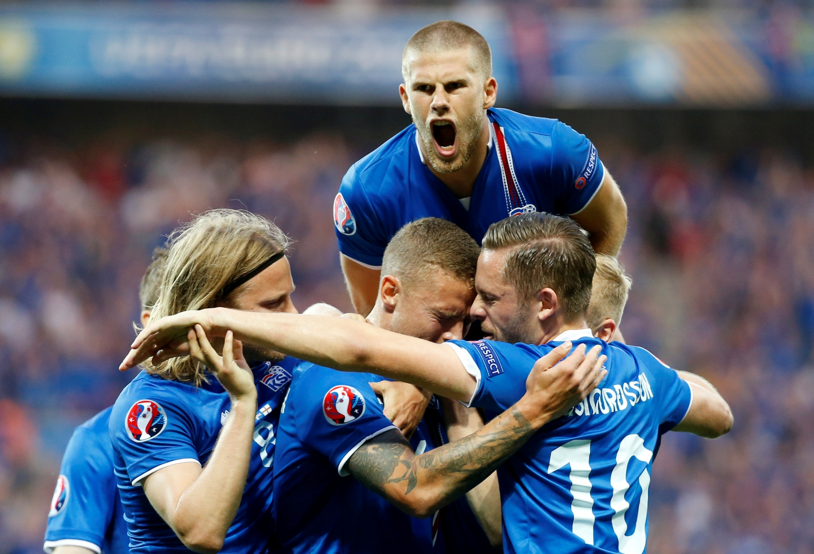 Iceland victory England Euro 2016