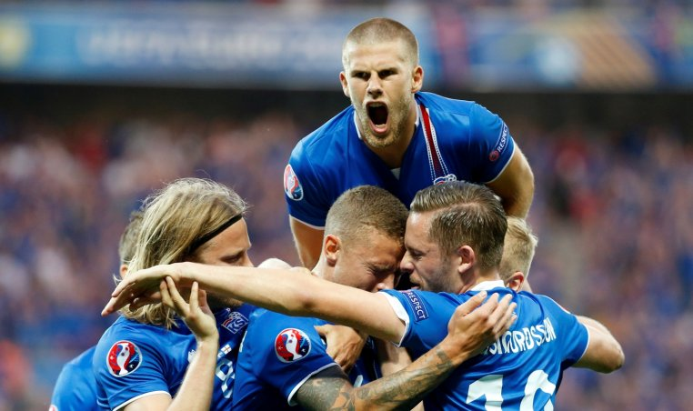 Iceland victory England Euro 2016
