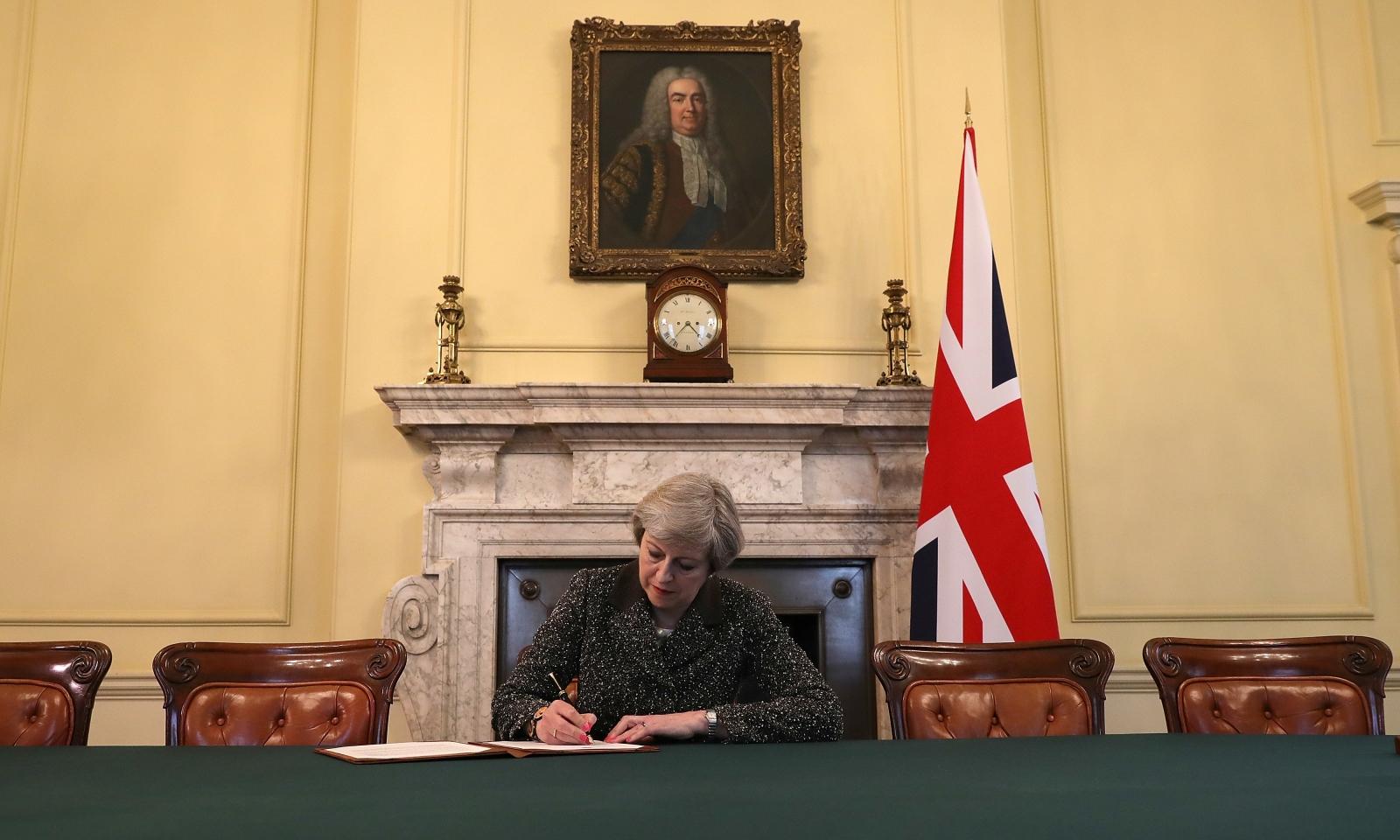Theresa May Article 50
