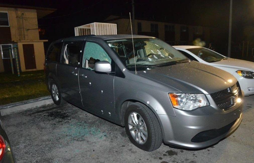shot car ambush