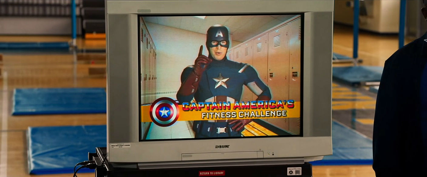 Captain America in Spider-Man: Homecoming
